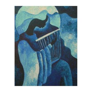 Sacred melody 2012 wood print