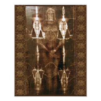 SACRED SHROUD OF TURIN PHOTOGRAPH