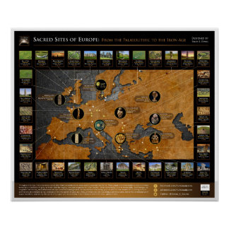 Sacred Sites of Europe Poster