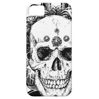 SAcred Skull Metal Goth iPhone 5 Case