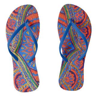 Sacred Tea Flip Flops