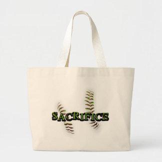 Sacrifice Fastpitch Softball Jumbo Tote Bag