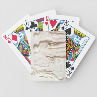 Sacrifice to Hercules, c.1766 (marble) Bicycle Playing Cards