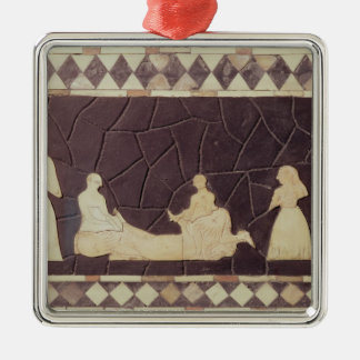 Sacrificial scene christmas ornament