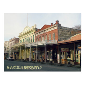 Sacrmento Travel Postcard
