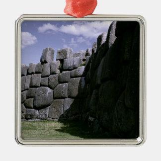 Sacsahuman Incan Fortress Christmas Ornament