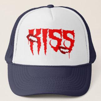 Sad And Happy Vampire Kiss Trucker Hat