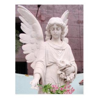 Sad Angel Postcard
