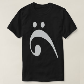 Sad bass Clef T-Shirt