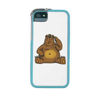 Sad Bear iPhone 5 Cover