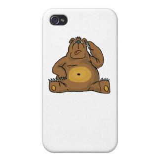 Sad Bear iPhone 4/4S Cases