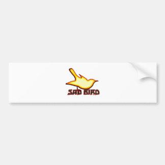 Sad Bird Bumper Sticker