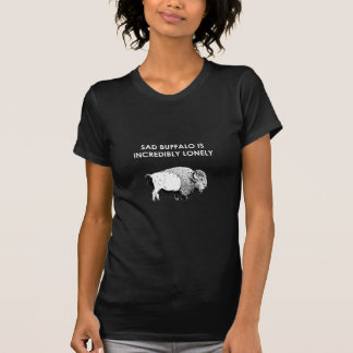 Sad Buffalo Tee Shirt
