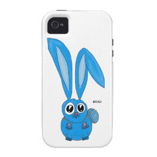 Sad Bunny Wants some Bunny to Love iPhone 4 Case