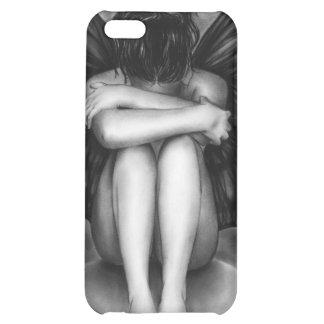 Sad Buttefly Girl iPhone Case iPhone 5C Cover