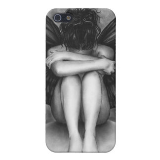 Sad Buttefly Girl iPhone Case iPhone 5 Covers
