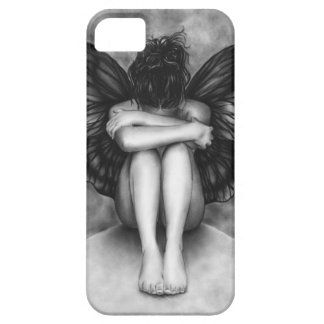 Sad Butterfly Girl iPhone Case