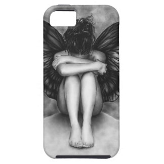 Sad Butterfly Girl iPhone Cover iPhone 5 Cover