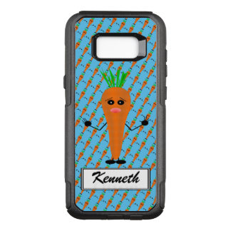 Sad Carrot by Kenneth Yoncich OtterBox Commuter Samsung Galaxy S8+ Case