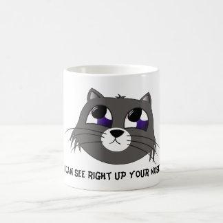 Sad Cat Coffee Mug