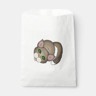 Sad cat favour bags