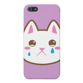 SAD CAT iPhone 5/5S COVER