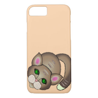 Sad cat iPhone 8/7 case