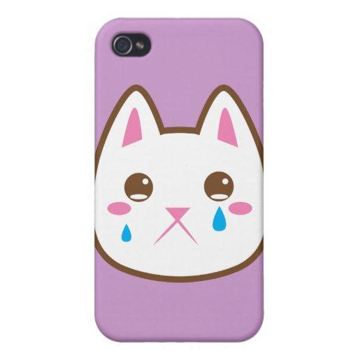 SAD CAT iPhone 4/4S CASE