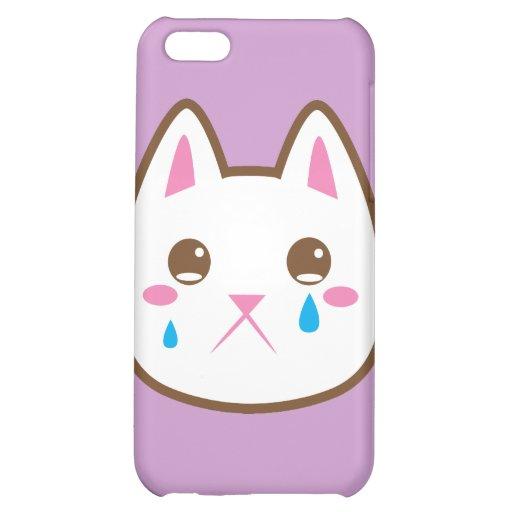 SAD CAT iPhone 5C CASE