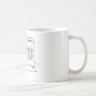 Sad Clock - Cartoon Mug