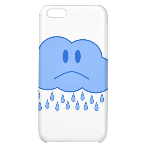 Sad Cloud Case For iPhone 5C