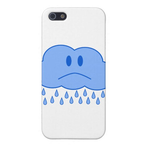 Sad Cloud Case For iPhone 5