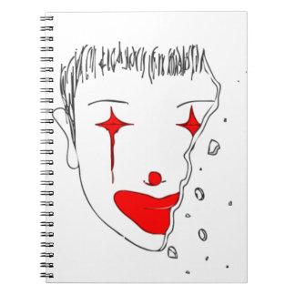 Sad Clown Notebooks