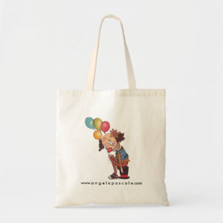sad clown tote