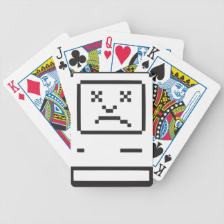 Sad Computer Icon Bicycle Poker Deck