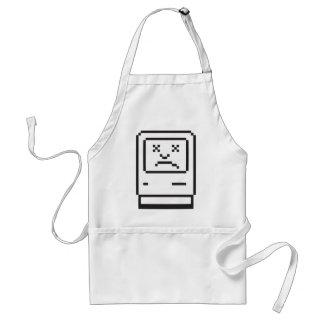 Sad Computer Icon Standard Apron