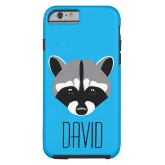 Sad Cute Raccoon Tough iPhone 6 Case