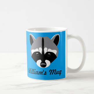 Sad Cute Raccoon Coffee Mug