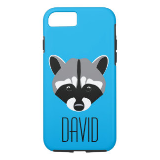 Sad Cute Raccoon iPhone 7 Case