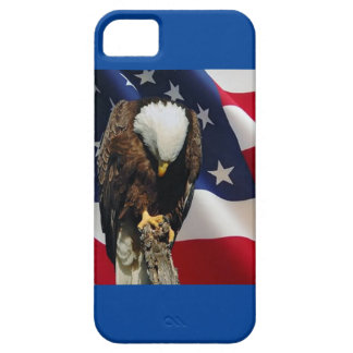 Sad Eagle Praying Eagle American Flag Barely There iPhone 5 Case