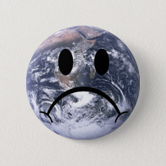 Sad earth badge
