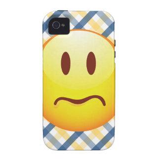 Sad Emoticon Case-Mate iPhone 4 Cases