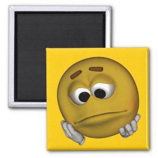 Sad Emoticon Magnet