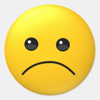 Sad expression emoji sticker