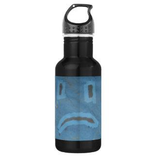 Sad Face Bottle 532 Ml Water Bottle