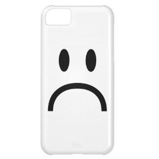 Sad Face iPhone 5C Cases