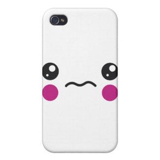 Sad Face iPhone 4 Cover