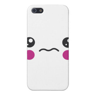 Sad Face Cover For iPhone 5