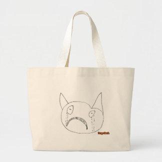 Sad Face Jumbo Tote Bag