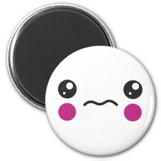 Sad Face Fridge Magnet